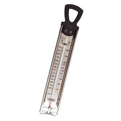 Kitchen Craft Cooking THERMOMETER Steel 60to220c Jam/Sugar/Deep Frying 30cm 0143