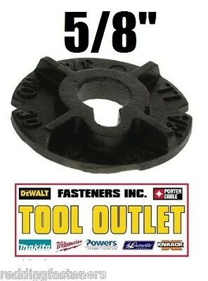 "(Qty 128) 5/8"" Round Malleable Washer Malleable Iron Plain Finish (40 LB Box)"