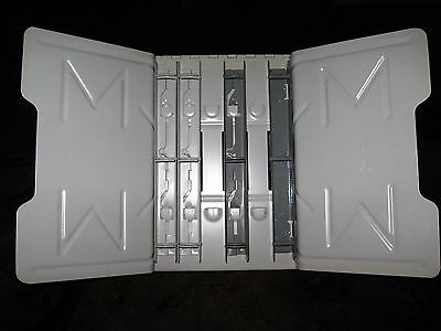 """Master Products Catalog Rack 906G Heavy Metal Hinged 18"""" Wide with 1"""" Clips"""