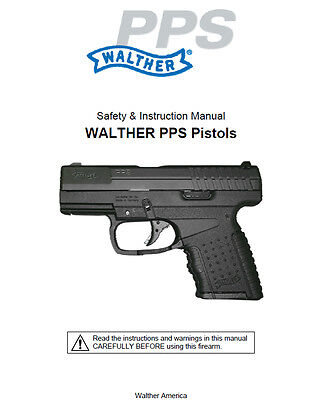 walther g22 rifle owners instruction and maintenance manual 6 99 rh picclick com Walther G22 Rifle Accessories Walther G22 Rifle Accessories