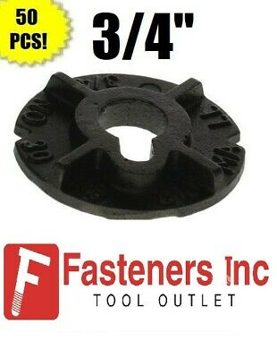 "(Qty 50) 3/4"" Round Malleable Washer Malleable Iron Plain Finish"