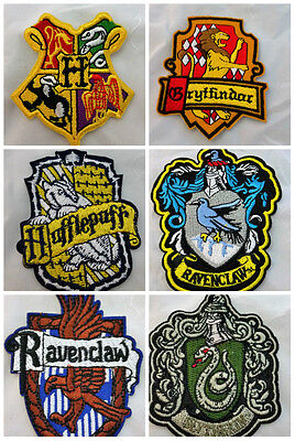 Hogwarts House Patches