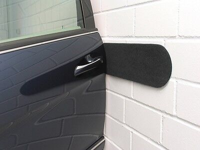 2 Protection Mural Mur Porte Voiture Bosse Rayure Vw Polo (86C,