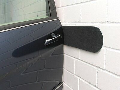 2 Protection Mural Mur Porte Voiture Bosse Rayure Vw Lupo (6X1,
