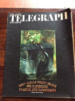 Daily Telegraph Magazine 1972 May Robert Graves Vernazza Canals Crossword Setter