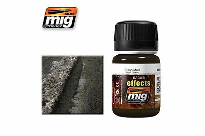 AMMO OF MIG A.MIG-1402 Nature Effects Fresh Mud 35ml