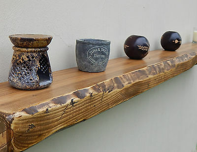 sale* RUSTIC RECLAIMED floating SHELF wall SHELVES solid wood storage furniture