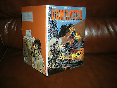 Comanche N°15 Red Dust Express - Edition Originale Aout 2002