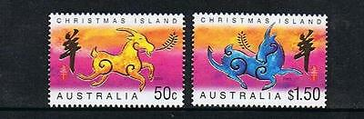 Stamps Australia  Christmas Island  2003 Year Of The Goat  Stamps  (Mnh)  C3