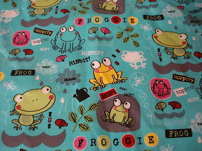Ladies Scrub Top Frogs Womens Medical Uniform Hoppity