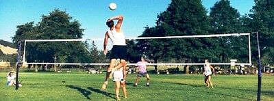 Cobra Portable Volleyball Net System - No Guy Wires!