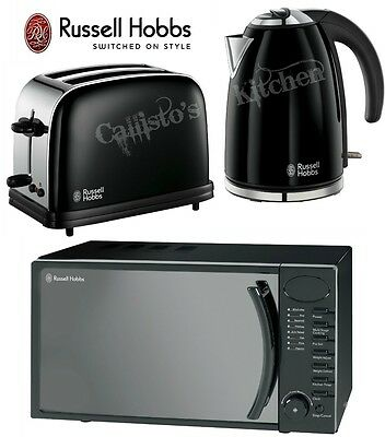 Kettle and Toaster Set + Microwave Russell Hobbs Colours 2-Slot Toaster & Kettle