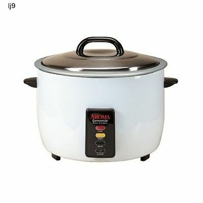 Commercial Rice Cooker 60 Cup Capacity Heavy Duty Restaurant Home Electric