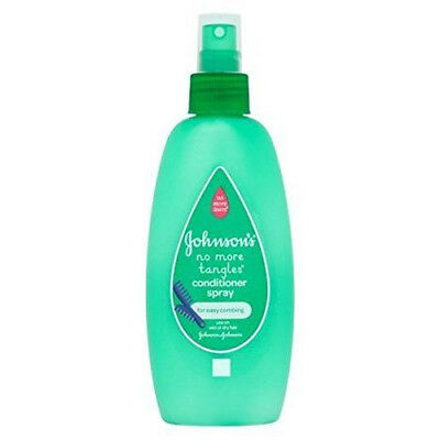 NEW Johnson's Baby No More Tangles Spray Conditioner 200ml