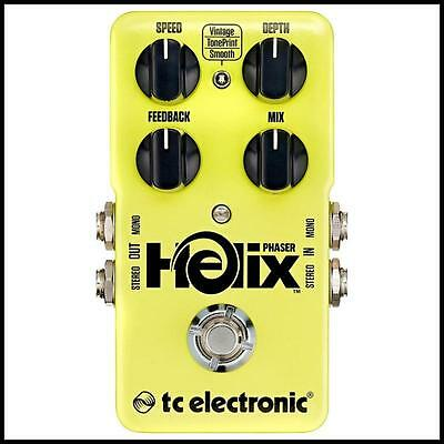 TC Electronic Helix Phaser Guitar Effects Pedal TonePrint enabled
