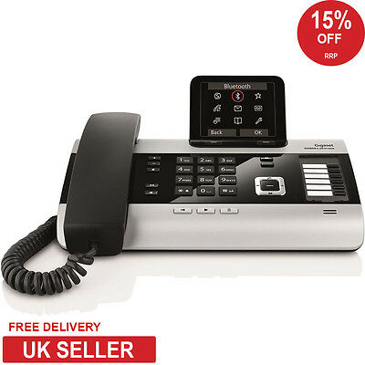 Siemens Gigaset DX800A VoIP, Analogue and ISDN Deskphone with DECT