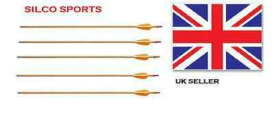 "Deluxe Field Arrows Wood - 30"" - 10Pk"