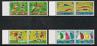 STAMPS  NIUE 1980 MOSCOW OLYMPIC (MNH)   lot964a