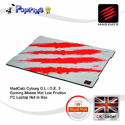 MadCatz Cyborg G.L.I.D.E. 3 Gaming Mouse Mat Low Friction PC Laptop Not in Box