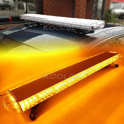47 88 led light bar emergency beacon warn tow truck plow response 47 88 led light bar emergency beacon warn tow truck plow response strobe amber mozeypictures Images
