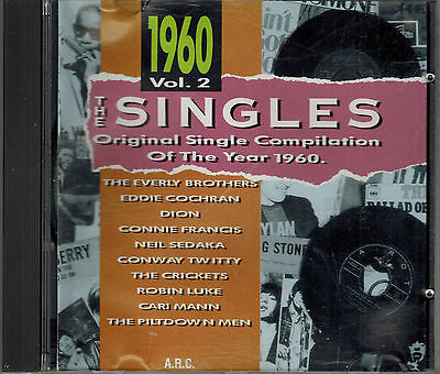 CD- THE SINGLES Single Compilation of the Year 1960 Vol. 2,Tracks 2. Foto