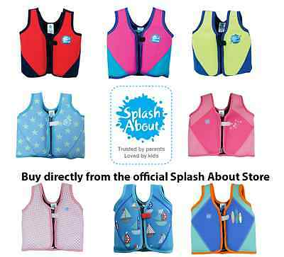 Splash About Childrens Float Jacket/ Learn to swim aid All Colours and All Sizes