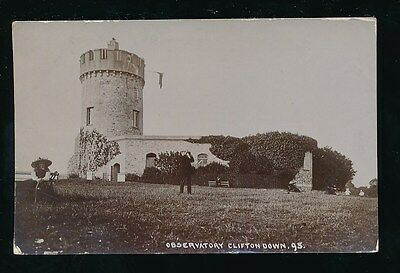 Gloucestershire Glos CLIFTON Down Observatory used 1914 RP PPC