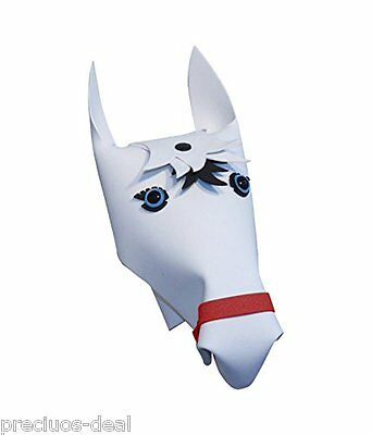 Handlebar Heroes Marshmallow White Horse Personalise your bike & scooter outdoor