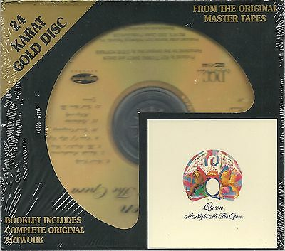 Queen A Night at the Opera DCC GOLD CD NEU OVP Sealed GZS 1144