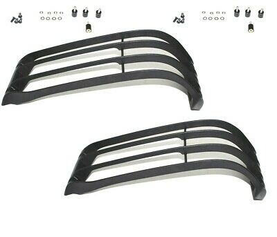 Land Rover Discovery 2 Series L318 1999-2002 Front Light Lamp Guard Set