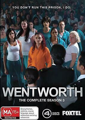 Wentworth : Season 3 - DVD Region 4 Free Shipping!