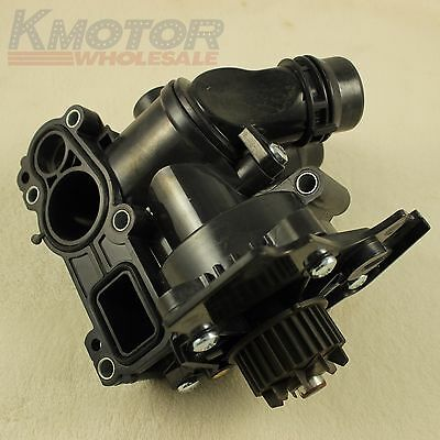 New Water Pump Thermostat Assembly For VW Golf Jetta GTI Passat Tiguan 2.0T 1.8T