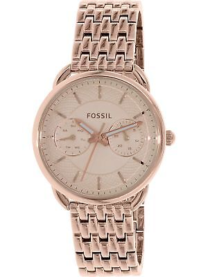Fossil Women's Tailor ES3713 Rose-Gold Stainless-Steel Quartz Watch
