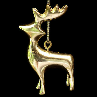 silvermetal reindeer christmas ornaments set of 6 3 - Metal Reindeer Christmas Decorations