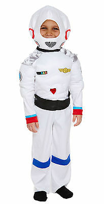 Astronaut Spacesuit Spaceman Toddler Boys Fancy Dress Costume Book Week Party