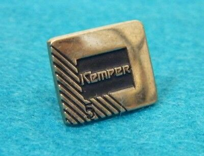 Vintage STERLING SILVER KEMPER INSURANCE 5 YEAR SERVICE PIN