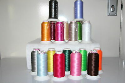 Embroidery Machine Sewing thread 1 x 3000mt quilting Horse rug binding, bags