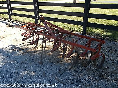 Used Ford 2 row 11 Shank RIPPER - Cultivator,WE CAN SHIP FAST and CHEAP