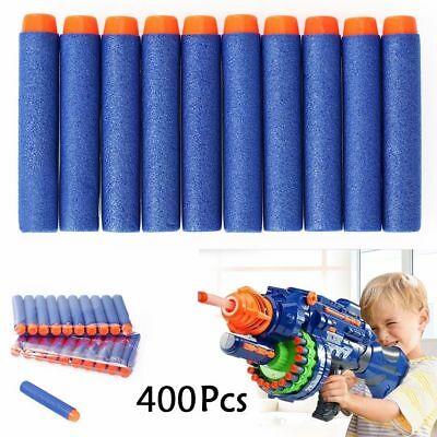 400Pcs 7.2cm Refill Foam Darts For Nerf N-strike Elite Series Blasters Toy Gun