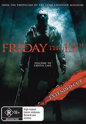 Friday the 13th (2009) (extended Cut) - DVD Region 4 Free Shipping!