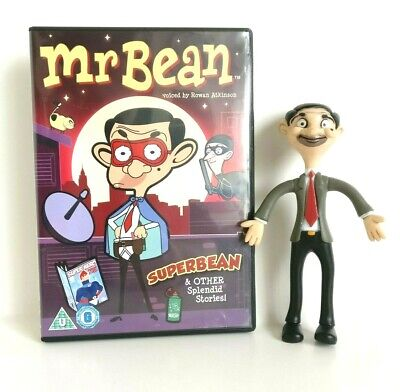 Mr Bean Bendable Poseable Rowan Atkinson Official 6 Inch Figure