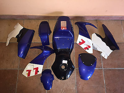 set completo kit carene minimoto aria 49 cc