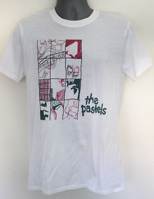 pastels t-shirt 80s  the jesus and mary chain pale saints c86 field mice