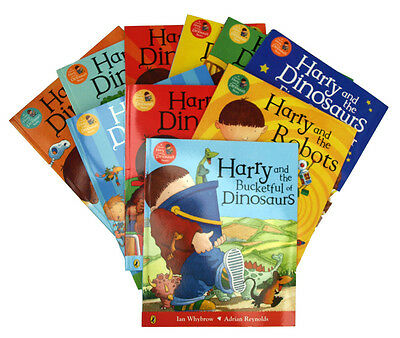 Harry And The Dinosaurs 10 Book Collection Set Children Kids Picture Books New