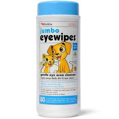 Petkin Jumbo Eye Wipes x 80. Premium Service. Fast Dispatch.