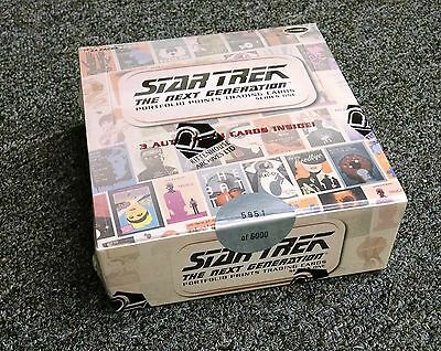 Star Trek The Next Generation Portfolio Prints Series 1 Factory Sealed Box - TNG