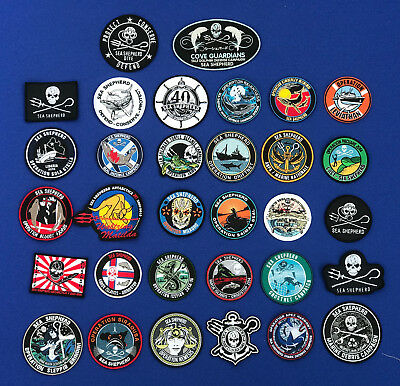 Sea Shepherd Campaign Patches Logo's