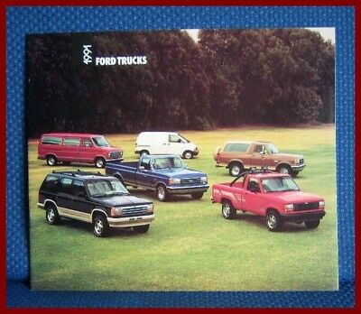 1991 Ford TRUCK Full Line Sales Catalog - NEW OLD STOCK