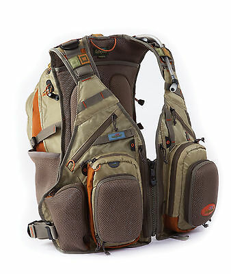 New Fishpond Wildhorse Fly Fishing Vest Backpack Driftwood Free Waterlog Bladder