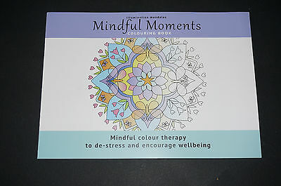 Mindful Moments Mandala Coloring book stained glass decal design Spirit Colour